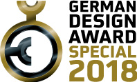 German Design Award Special Mention 2018 logosu