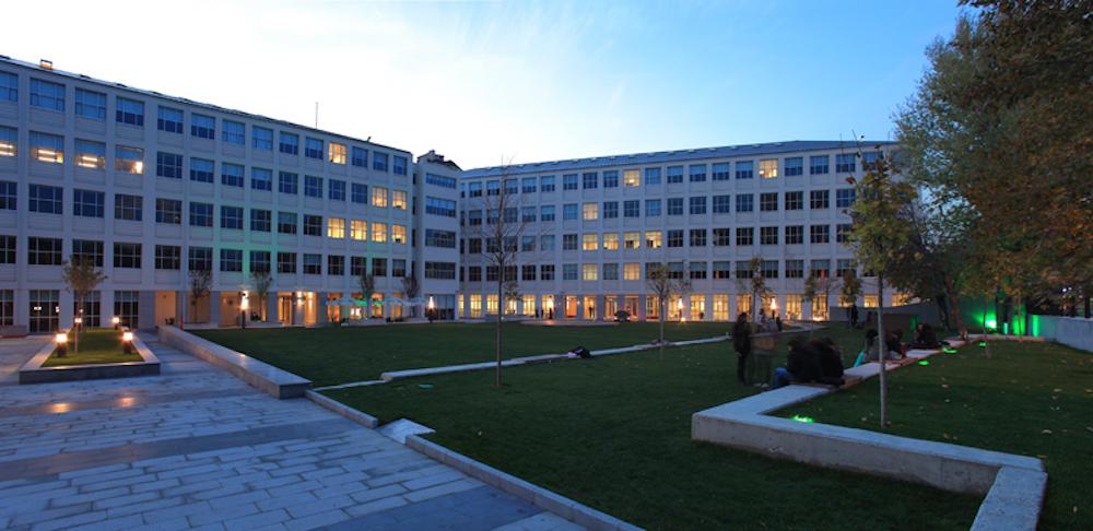 ted üniversitesi binası