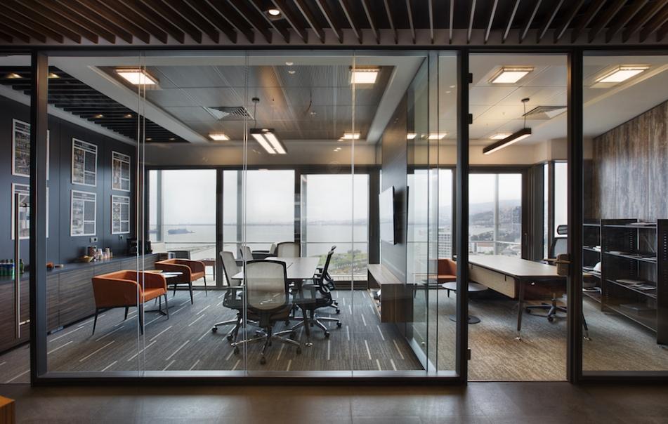 trimline izmir ofisi nurus mobilyaları