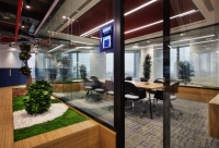 Türkiye İş Bankası Çevik Atölye ofisi Nurus mobilya