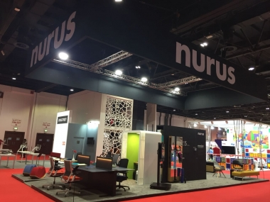 dubai 2018 workspace fuarı nurus standı